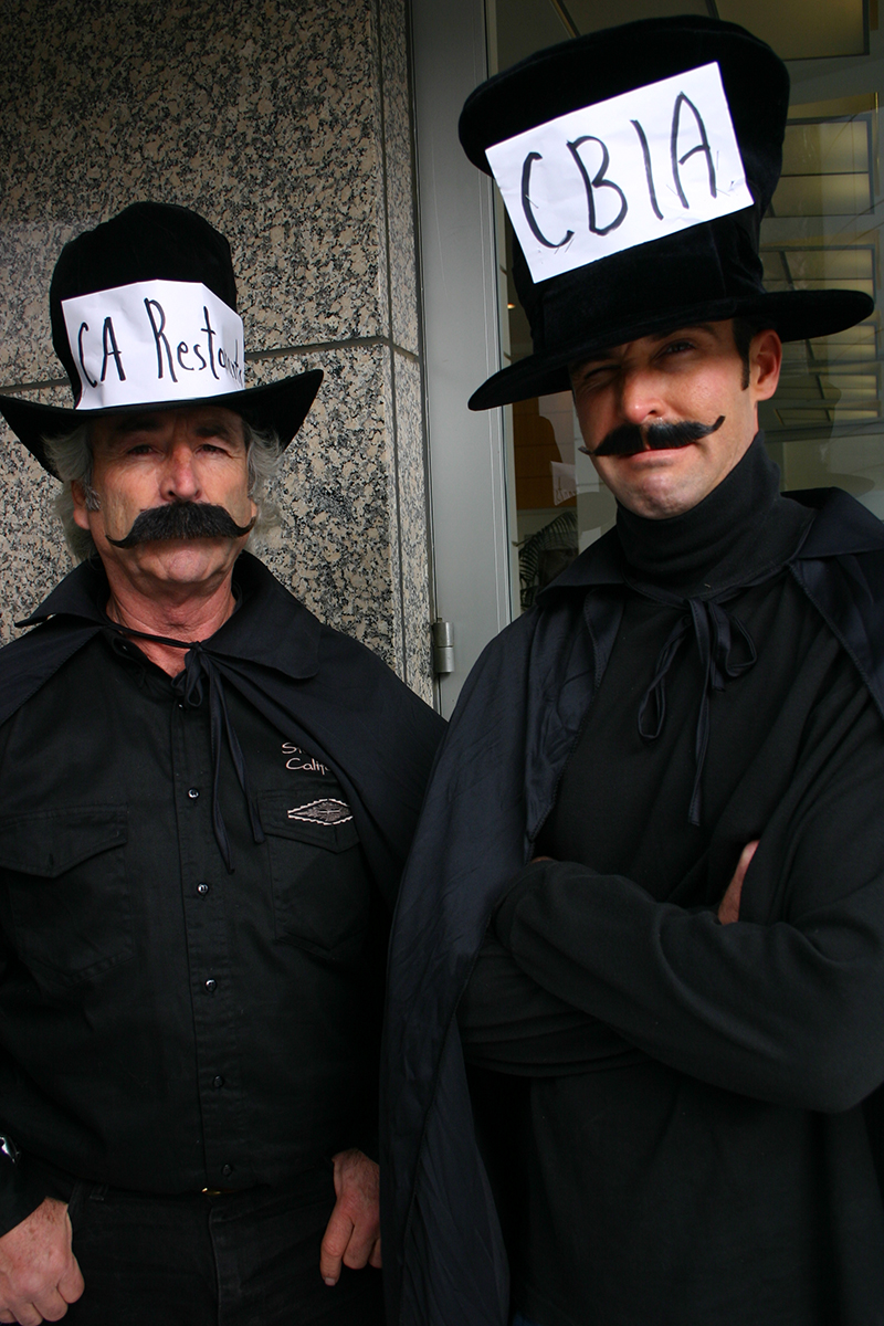 Dastardly ones, Danny and Justin Larson